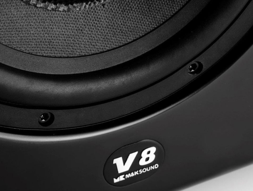 V-8 Subwoofer  (BLACK)/ชิ้น