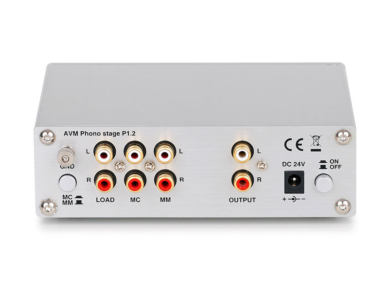 P-1.2 (Phono Stage) (Silver)