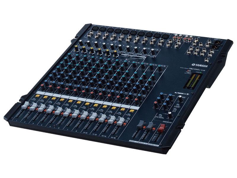 MG-166 (Analog Mixer) (DEMO) สินค้าตัวโชว์