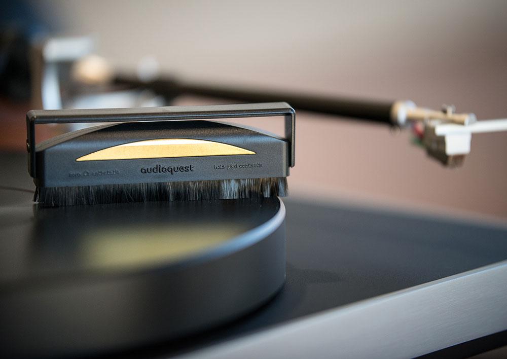 Anti-Static Record Brush