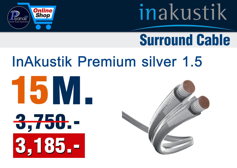 Monitor Premium silver 1.5 (15M.)