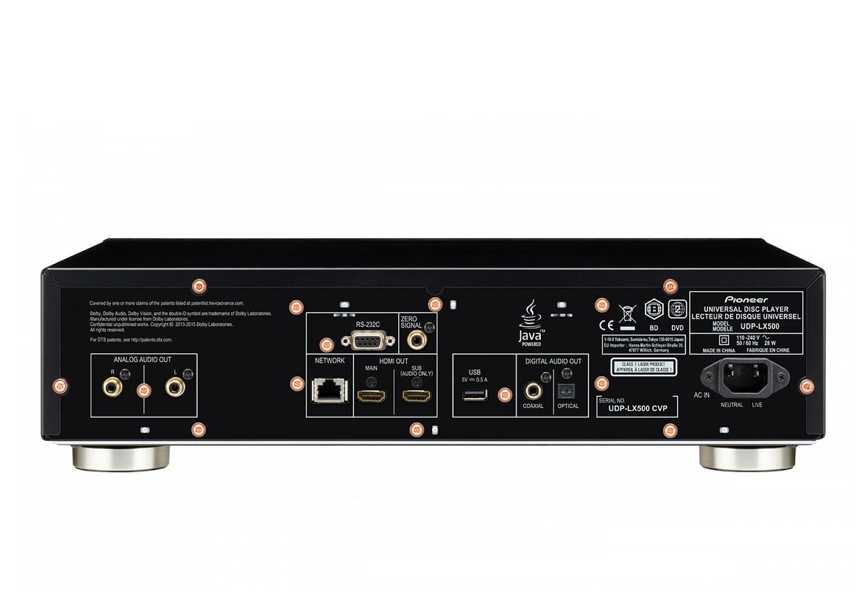 UDP-LX500 (BLACK)