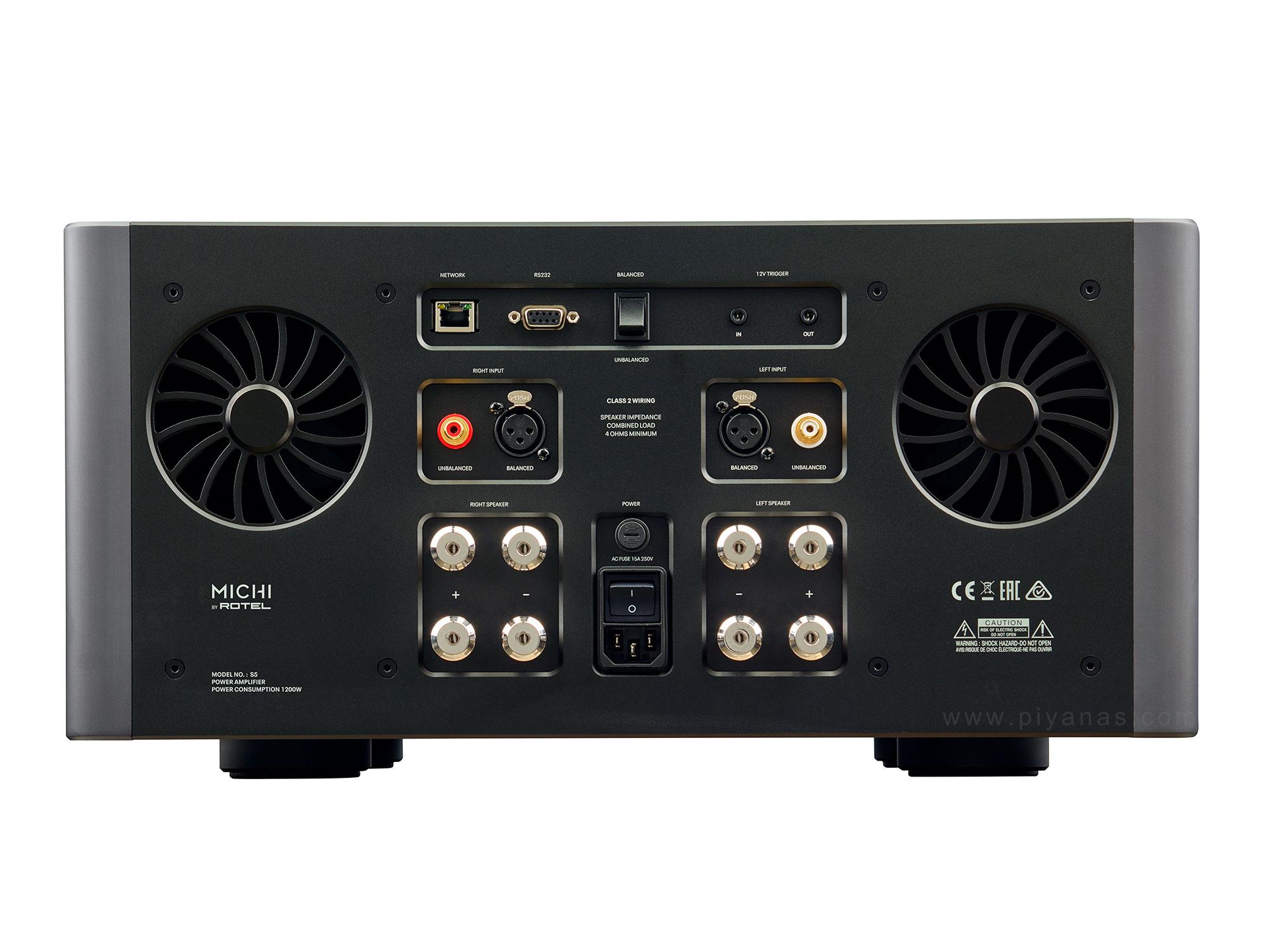 S5 (Stereo Power Amp)