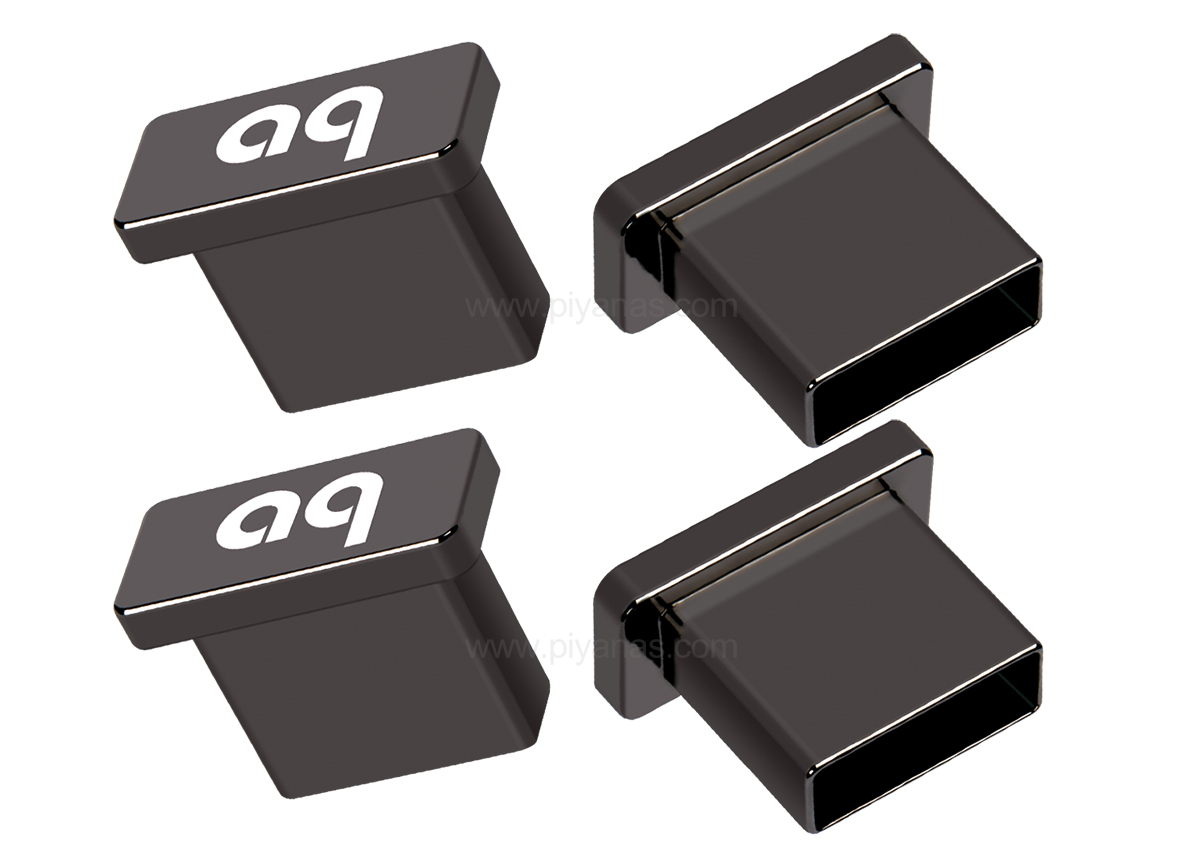 USB Noise-Stopper Caps Set4