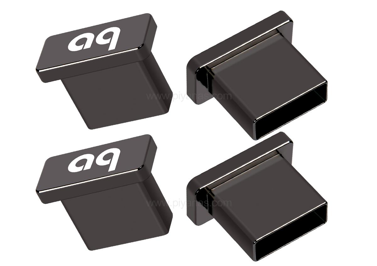 USB Noise Stopper Caps Set of 4