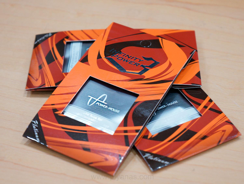 Powerhouse ฟิวส์ รุ่น IP-3 สีส้ม / ค่า 4A (20MM)