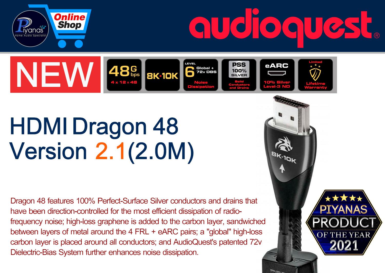 HDMI-Dragon 48 Version 2.1 (2.0M)